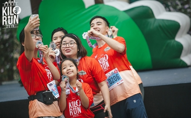 7 quốc gia tham dự sự kiện Kilorun Hà Nội 2019