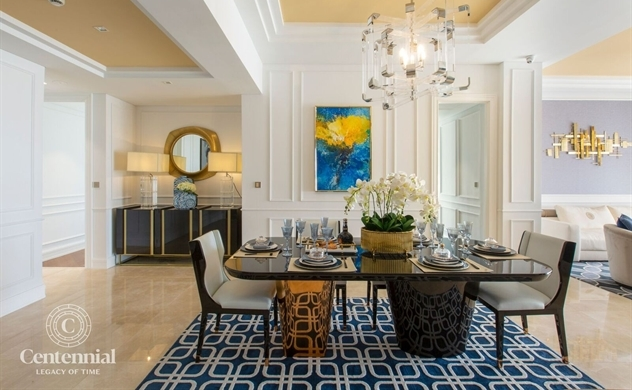 Alpha King ra mắt dự án căn hộ hạng sang Centennial