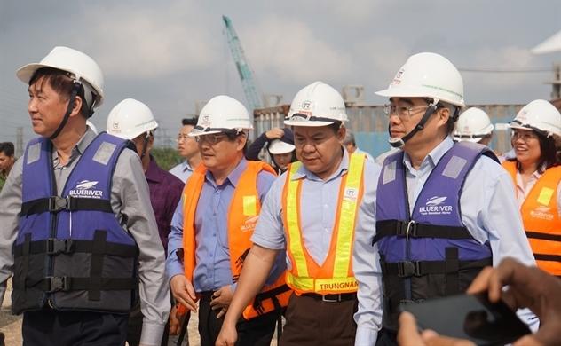 Bí thư Nguyễn Thiện Nhân thực địa dự án chống ngập 10.000 tỉ đồng