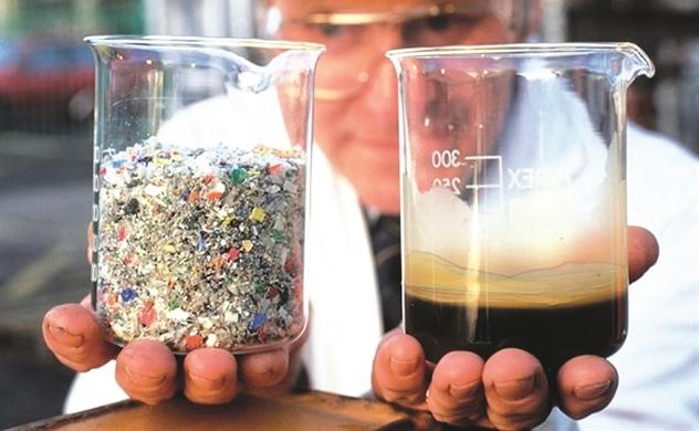 Biến nhựa thành dầu
