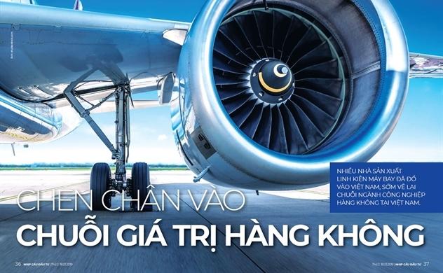 Chen chân vào chuỗi giá trị hàng không