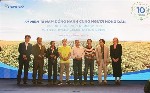 """PepsiCo kỷ niệm 10 năm dự án """"Nông nghiệp bền vững"""""""