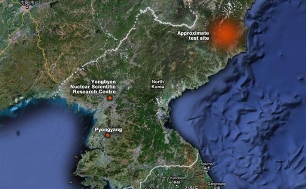 Động đất nhẹ gần địa điểm thử hạt nhân của Triều Tiên