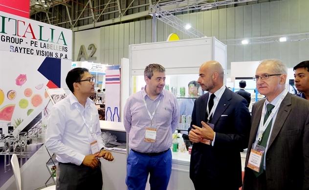 Doanh nghiệp Ý muốn tăng xuất khẩu máy móc sang Việt Nam