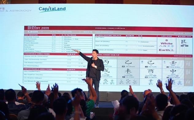 """CapitaLand tổ chức hội thảo """"Phong Thủy và Chiêm tinh học 2019"""""""