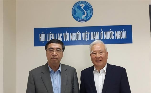 Chủ tịch ALOV tiếp Nguyên Đại sứ Hàn Quốc tại Việt Nam