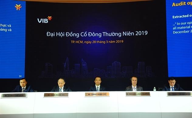VIB đặt kế hoạch lãi trước thuế 3.400 tỉ đồng trong năm 2019