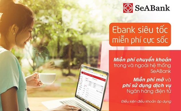 Chuyển tiền không mất phí với các dịch vụ ngân hàng điện tử của SeABank