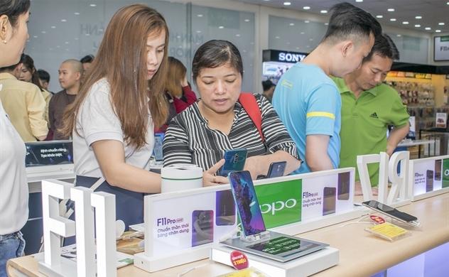 Gần 43.000 khách hàng đặt cọc OPPO F11 Series