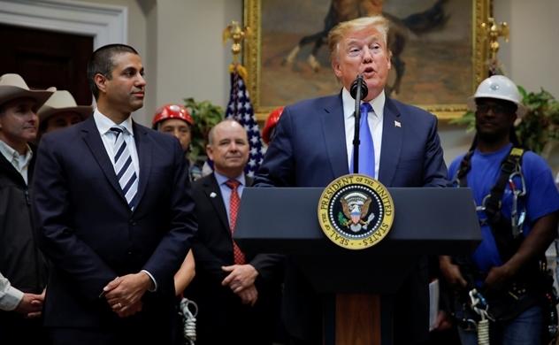 Tổng thống Trump tuyên bố Mỹ phải thắng trong cuộc đua 5G