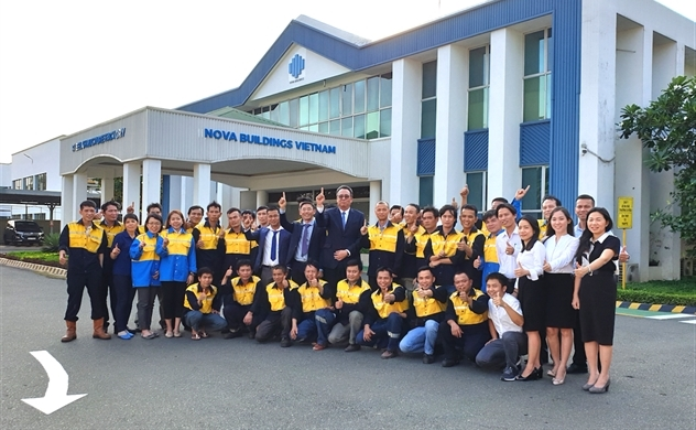 Nova Building khai trương nhà máy chế tạo ở Biên Hòa