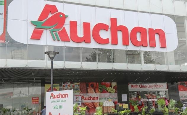 """Auchan """"rút chân"""" ra khỏi thị trường bán lẻ Việt"""