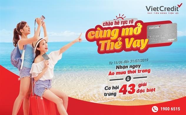 Khuyến mãi mùa hè hấp dẫn cùng thẻ vay VietCredit