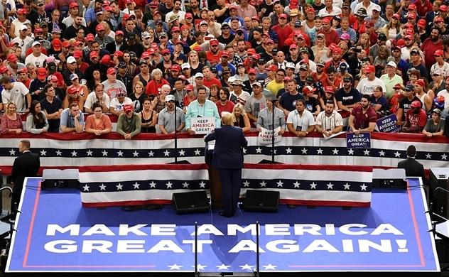 Trump chính thức khởi động chiến dịch tranh cử Tổng thống Mỹ 2020