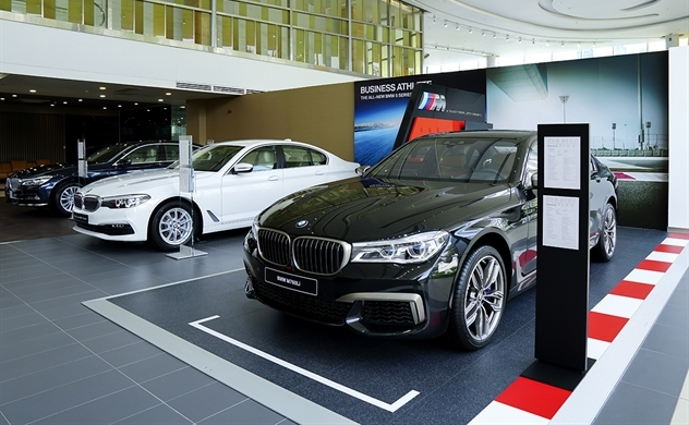THACO khai trương tổ hợp showroom 3 thương hiệu BMW, MINI và BMW Motorrad tại TP.HCM