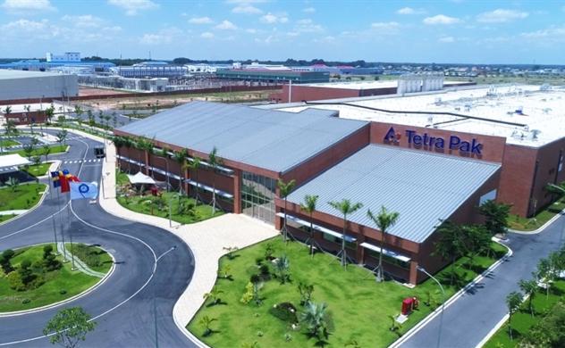Tetra Pak khánh thành nhà máy sản xuất vật liệu hộp giấy đầu tiên của Việt Nam
