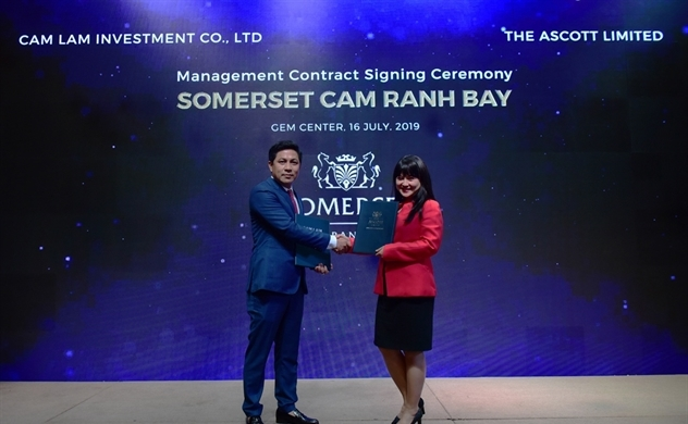 The Ascott Limited sẽ vận hành dự án Cam Ranh Bay, Khánh Hoà