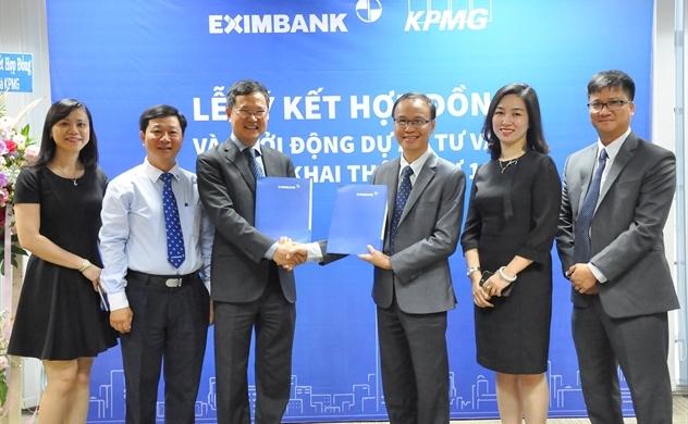 Eximbank ký kết hợp đồng tư vấn với KPMG để thực hiện thông tư 13