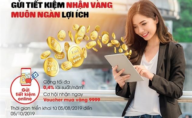 Gửi tiết kiệm nhận vàng cùng muôn ngàn lợi ích tại SeABank