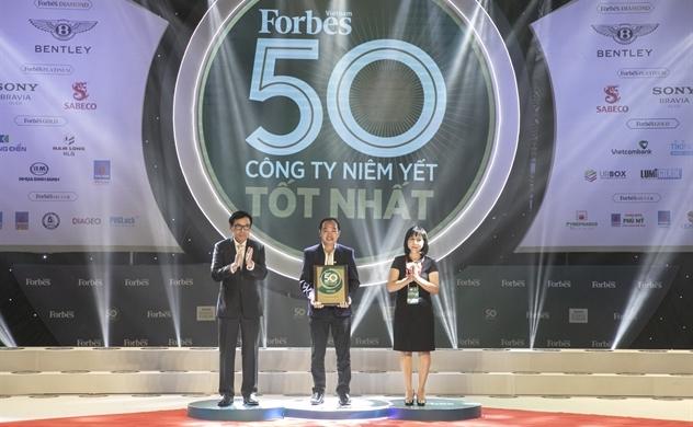 Nhựa Tiền Phong vào top 50 công ty niêm yết tốt nhất 2019