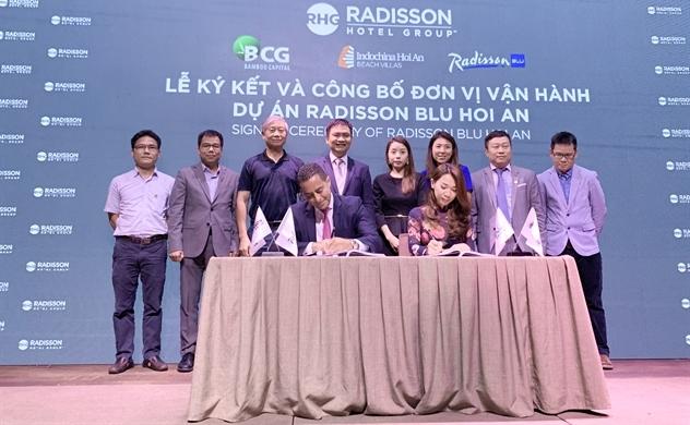 Bamboo Capital và Tập đoàn khách sạn Radisson hợp tác phát triển dự án tại Hội An