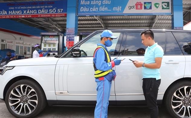 PVOIL: Mua xăng dầu thanh toán bằng ứng dụng trên điện thoại thông minh