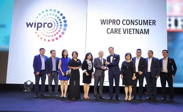 Wipro Consumer Care Việt Nam lần thứ 2 nhận giải thưởng: Nơi làm việc tốt nhất châu Á