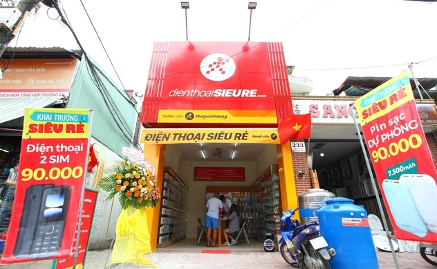 Thế Giới Di Động mở hàng loạt cửa hàng điện thoại siêu rẻ