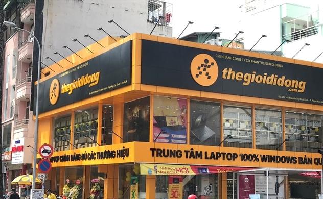 Khai trương trung tâm laptop, Thế Giới Di Động tham vọng chiếm 50% thị phần