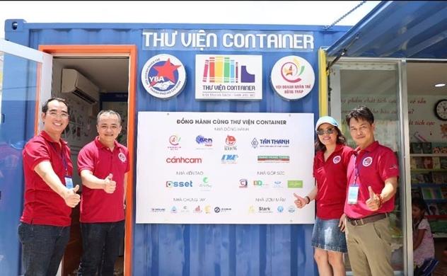 Thư viện Container: 482 niềm vui ngày tựu trường tại Tháp Mười