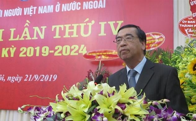 Ông Nguyễn Phú Bình tái cử Chủ tịch Hội Liên lạc với Người Việt Nam ở nước ngoài