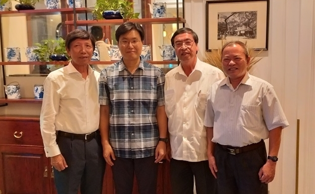 Chủ tịch ALOV tiếp CEO của Công ty Alchera – Hàn Quốc