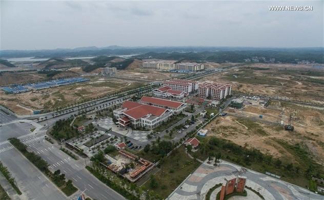 Khu thương mại tự do Trung Quốc chật vật cạnh tranh thu hút đầu tư với Việt Nam