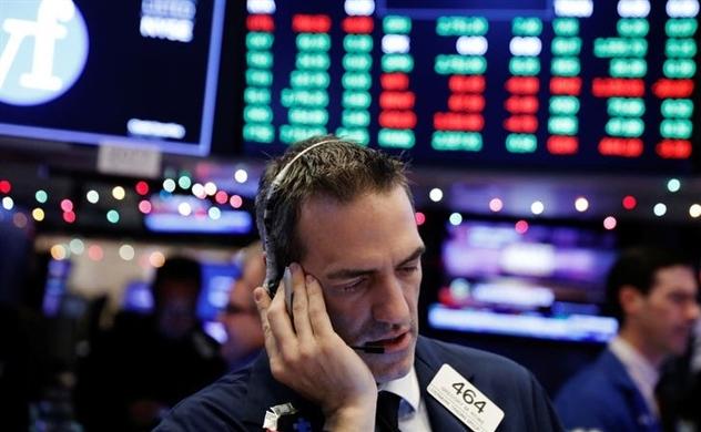 Thị trường chứng khoán Mỹ tiếp tục chìm trong sắc đỏ