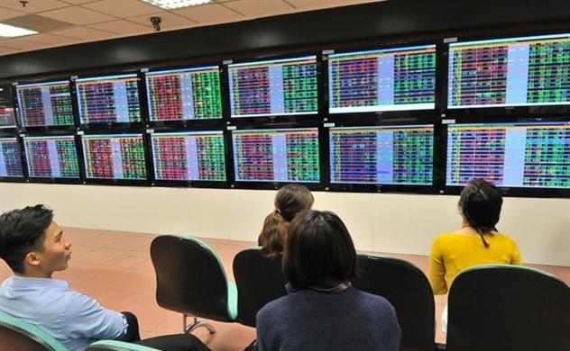 Thị trường chứng khoán sáng 04/10: VN-Index giằng co tăng - giảm
