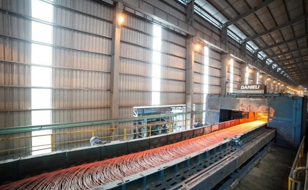 Sản lượng thép của Hòa Phát trong 9 tháng đầu năm tăng 16,1%