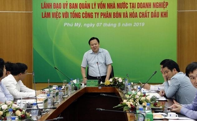 Chủ tịch UBQLVNN Nguyễn Hoàng Anh: PVFCCo hoạt động hiệu quả, chiến lược phát triển đúng đắn