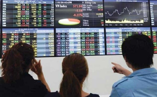 Thị trường chứng khoán sáng 14/10: Nhóm Ngân hàng tiếp tục hút tiền