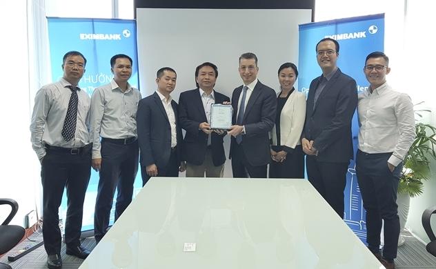 Eximbank nhận giải thưởng chất lượng thanh toán quốc tế xuất sắc
