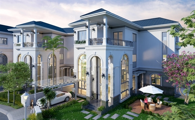 Sol Villas: Đẳng cấp triệu đô đến từ kiến trúc tân cổ điển