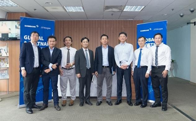 Eximbank phối hợp cùng JP Morgan Chase Bank tổ chức buổi chia sẻ về thông tin kinh tế vĩ mô