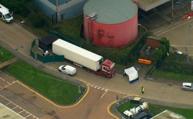 Cảnh sát Essex: Tất cả 39 nạn nhân chết trong container là người Việt Nam