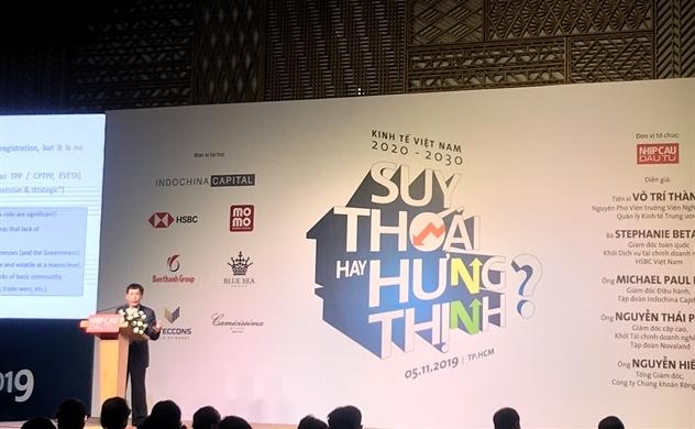 Kinh tế Việt Nam 2020 – 2030: Suy thoái hay hưng thịnh?