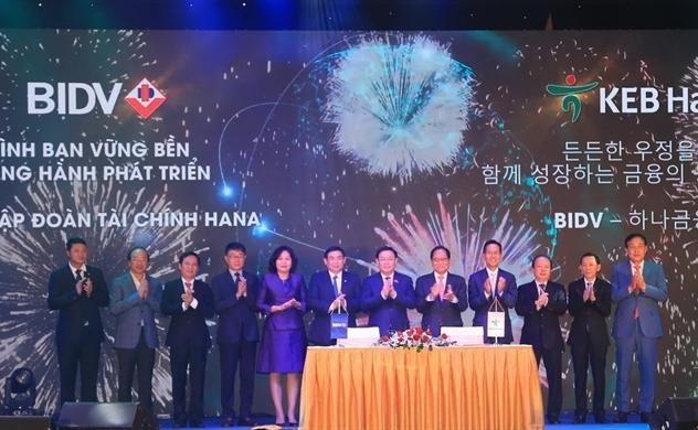 BIDV raises $875 million from selling 15% stake to KEB Hana Bank