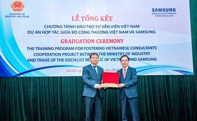 207 chuyên gia tư vấn Việt Nam tốt nghiệp dự án đào tạo của Samsung