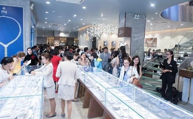 Doanh thu bán lẻ PNJ tiếp tục bứt tốc trong tháng 10
