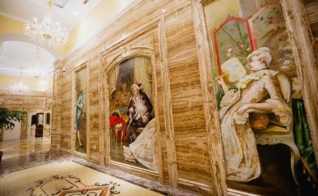 Luxury In Art & D'. Palais Louis: Người giàu hiểu rất rõ giá trị của cuộc sống