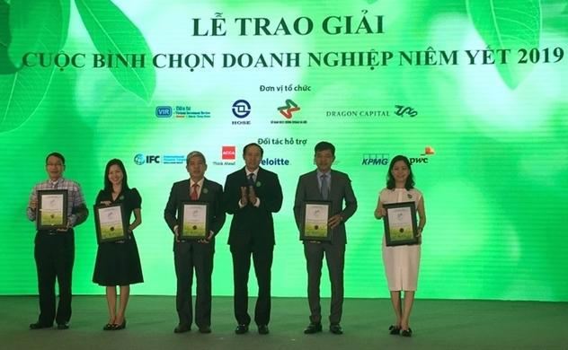 Lễ trao giải Cuộc Bình chọn Doanh nghiệp niêm yết 2019