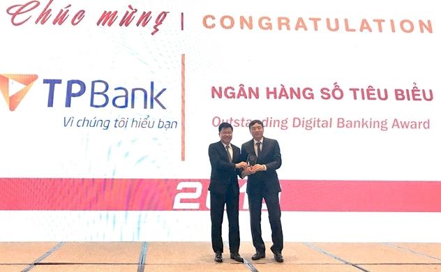 TPBank tiếp tục được vinh danh là Ngân hàng số tiêu biểu