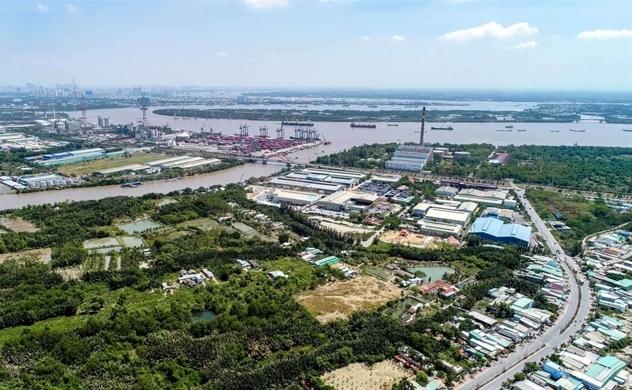 Hiệp Phước phát triển siêu cảng biển, Cần Giuộc tiếp tục sốt đất